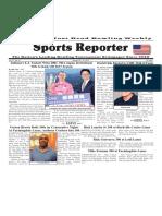 January 25 - 31, 2017   Sports Reporter