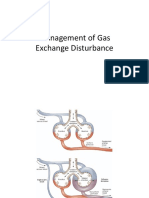 Management of Gas Exchange Disturbance