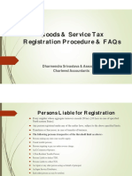 GST Registration Procedure and FAQs