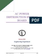 Ac Power Distribution Switch Board