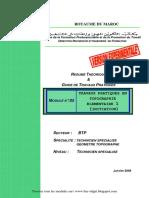 m05-Travaux Pratiques en Topographie Élémentaire 1-Initiatio Btp-tsgt - Www.bac-Ofppt.blogspot.com