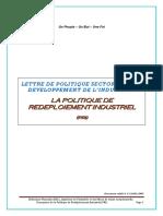 Lettre Devpt Industriel