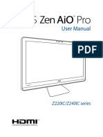 Manual Zen Asus PC AIO PRO