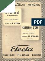 g. Ottina - A San Jose - Band Sheet Music