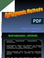 2-Hydrodynamic Methods (Sedimentation, Centrifugation and Ultracentrifugation (1)