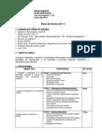 Plano de Ensino Manutindust20111