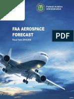 FY2016-36 FAA Aerospace Forecast