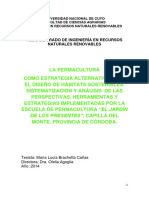 tesis permacultura