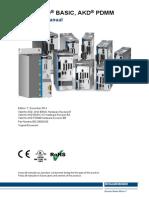 Kollmorgen AKD and AKD PDMM Installation Manual en Rev T