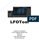LFOTool 15 Manual