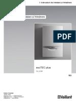 Manual Instalare Ecotec Plus Vuw 238956