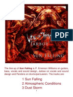 SUN FALLING by Veil of Thorns Featuring Jarboe