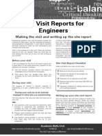 Site Reports for Engineers Update