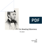 Gann, Kyle - On Reading Emerson