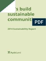 ALI Sustainability 2014