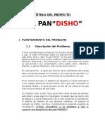 proyecto FENCYT PAN DE ARBOL
