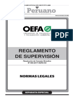 Reglamento de Supervisión