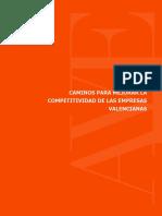Caminos Mejorar Competitividad Empresas Valencianas 2015