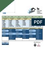 FINA Mundial Junior - Indinapolis 2017 Calendario