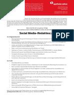 Social Media-Redakteur/-in