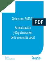 Formalización y Regularización de La Economía Local Rosario