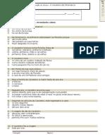 Ficha de Verificação de Leitura (Preparação) - O Cavaleiro Da Dinamarca