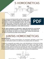 Juntas Homocinéticas