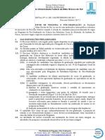 EDITAL (PROPP-RTR) n 22, de 02-02-2017.