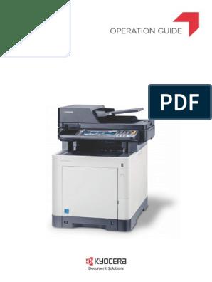 Kyocera Manual AD | Fax | Image Scanner