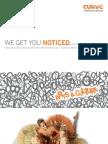 Curve Communications - Arts and Culture Client Brochure