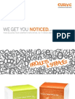 Curve Communications - Products and Services Client Brochure