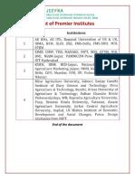 BRLPS List PremierInstitutes