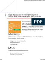 Alfresco 4.2.c Installation on Windows Server 2008 - F