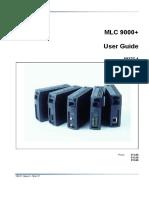 MLC9000 User Guide English