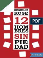Doce Hombres Sin Piedad - Reginald Rose