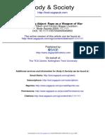 Becoming Abject Rape as a Weapon of War Bulent Diken