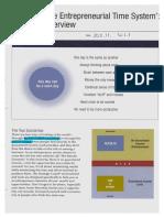 TheEntrepreneurialTimeSystem Overview