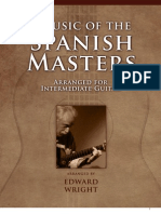 Music of the Spanish Masters for Intermediate Guitar