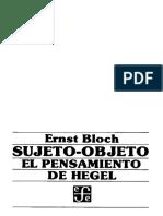 Bloch -Sujeto Objeto.pdf