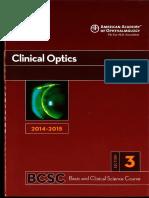3 Clinical Optics