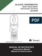 Terrômetro Minipa ET-4310