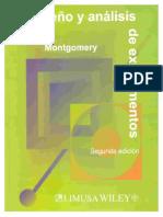 Diseño y Análisis de Experimentos, Montgomery