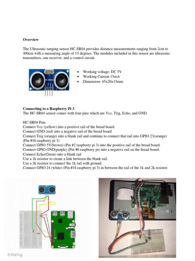 Ultrasonic Doloressanchez Docx Computer Engineering Electronics Hc Sr04 Datasheet