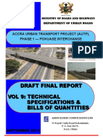 Vol 9. Autp - Draft Final Report _ Technical Specs & Boq_sept 15