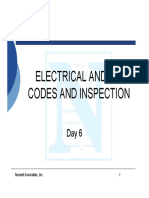 Electrical and IC Codes and Inspection