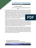 Resumen Ponencia en VIII congreso IRI UNLP