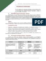 Capitulo IV - a Programa de Inversiones
