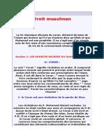 Droit Musulman Agadir