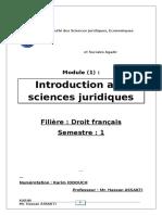 Introduction Aux Sciences Juridiques