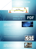 Study of Crime Scene InvestigatioN 1